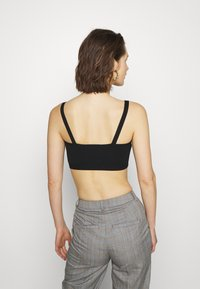 Who What Wear - THE BRALETTE - Top - black - 2