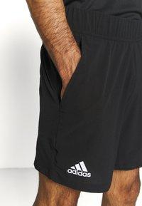 adidas Performance - ERGO SHORT - Sportovní kraťasy - black/white - 5