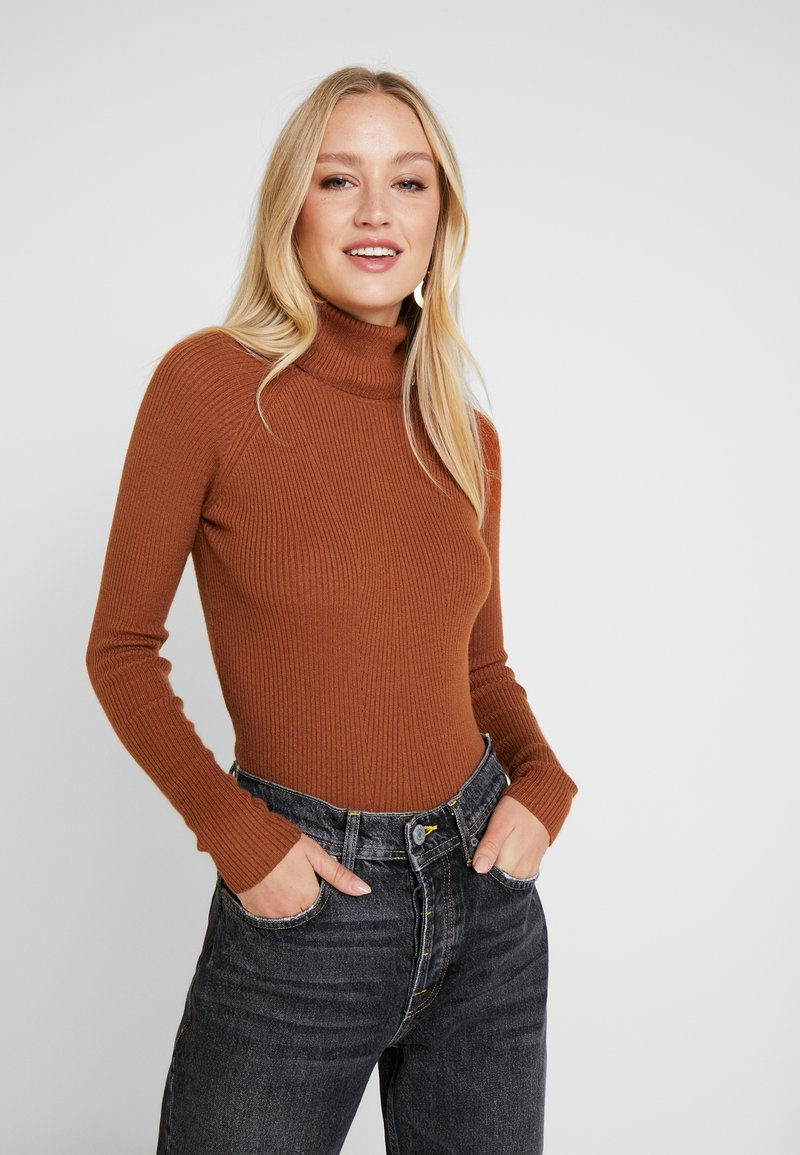 Anna Field - Stickad tröja - caramel cafe