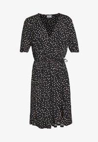 Saint Tropez - MINA DRESS ABOVE KNEE - Žerzejové šaty - black - 5