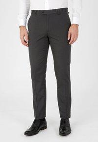Next - SUIT TROUSERS - Pantaloni eleganti - grey - 0