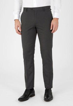SUIT TROUSERS - Pantaloni eleganti - grey