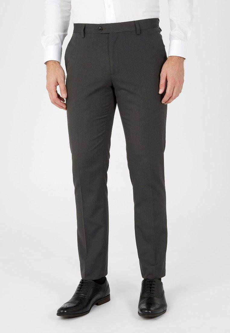 Next - SUIT TROUSERS - Pantaloni eleganti - grey