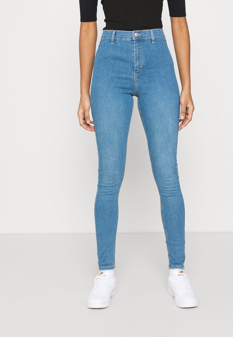 Topshop - CAST JONI - Skinny džíny - blue