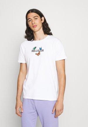 BAND TEES - T-shirt med print - white