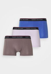 Tommy Hilfiger - TRUNK 3 PACK - Pants - iris blue/luna phase/lilac ice - 4