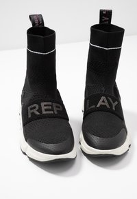 Replay - LENOIR - Høye joggesko - black - 7