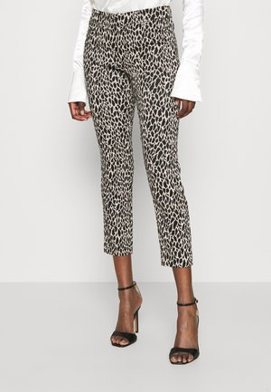 MODERN SLOAN ANIMAL - Trousers - black
