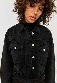 TALLY WEiJL - Denim jacket - black - 3