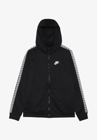 Nike Sportswear - HOODIE TAPED - Trainingsvest - black/white - 3