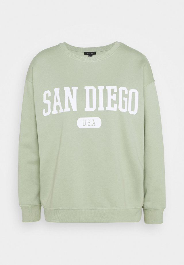 SAN DIEGO LONGLINE - Sweatshirt - light green