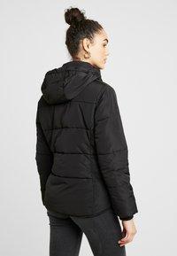 Topshop - JACK HOOD PUFFER - Winter jacket - black - 3