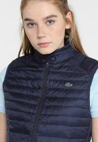 Lacoste Sport - Waistcoat - navy blue - 3