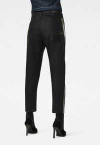 G-Star - X-STAQ 3D BOYFRIEND CROP  CT - Relaxed fit jeans - pitch black - 1