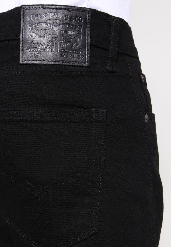 Levi's® 512™ SLIM TAPER FIT - Jeansy Slim Fit - nightshine/czarny denim Odzież Męska VWIQ
