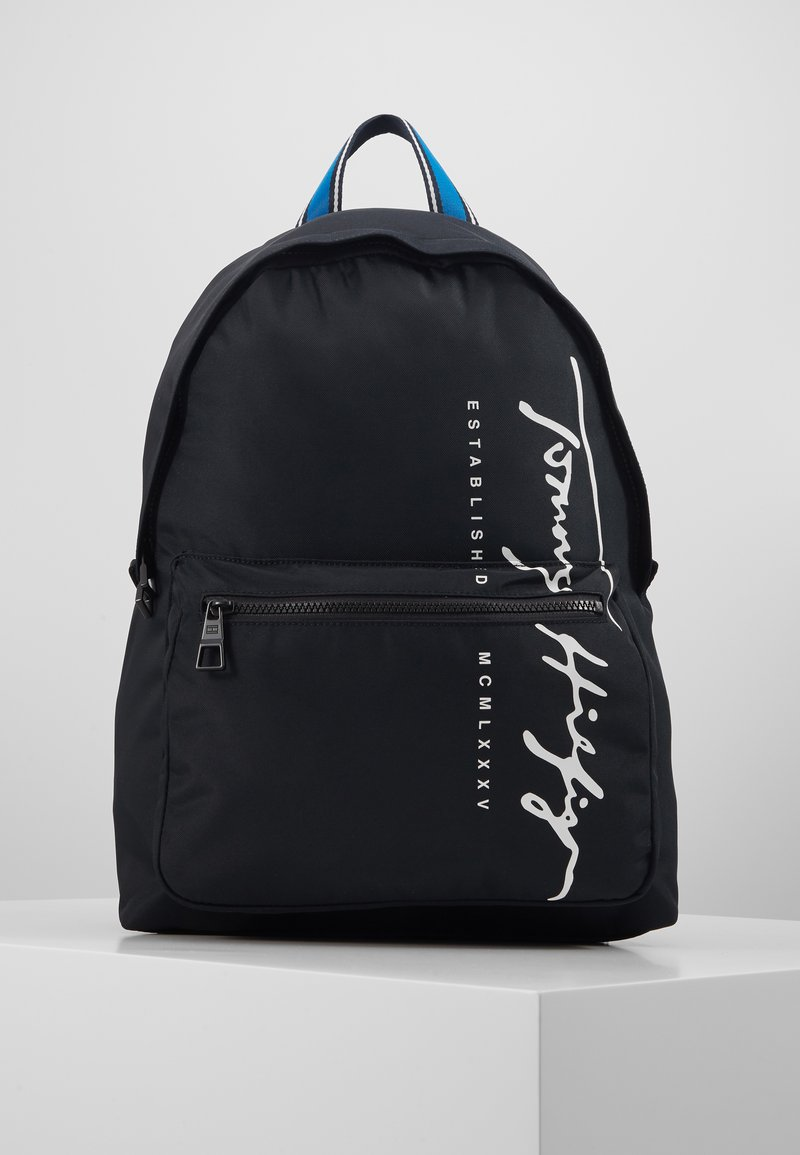Tommy Hilfiger - SIGNATURE BACKPACK - Plecak - black