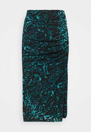 DARIELLA - Pencil skirt - blue