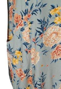 Zizzi - Day dress - light blue flower - 6