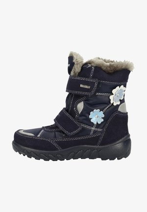 Winter boots - nautical/silver