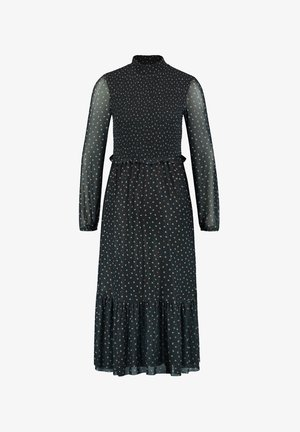 Day dress - black gemustert