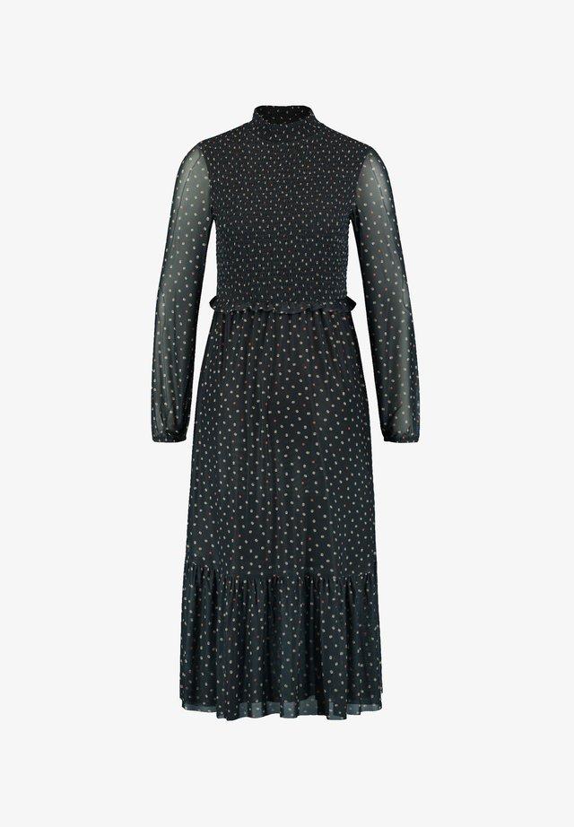 Day dress - black gemustert