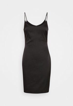 STRETCH BODYCON MINI DRESS - Day dress - black