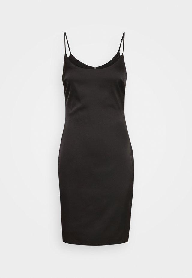 STRETCH BODYCON MINI DRESS - Day dress - black