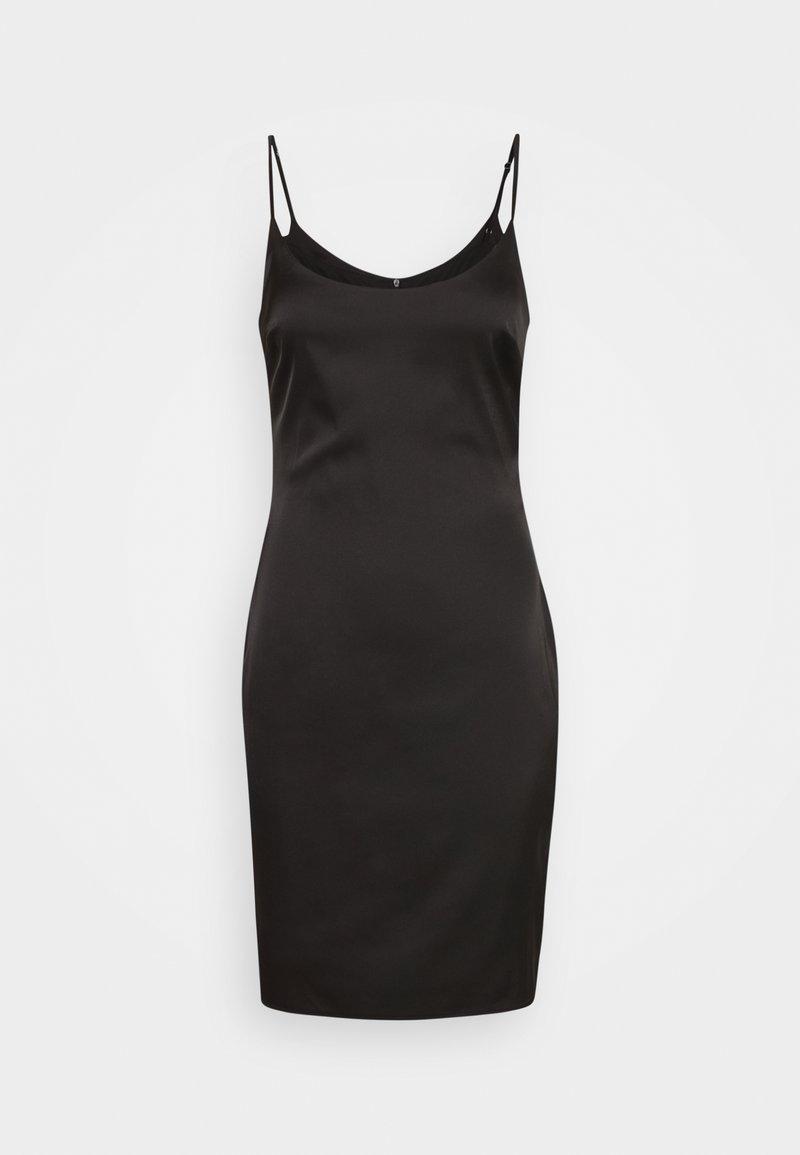 Missguided Tall - STRETCH BODYCON MINI DRESS - Denní šaty - black