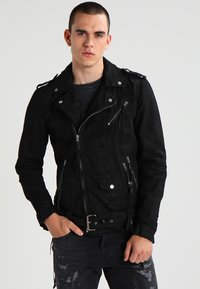 Be Edgy - BECHAIN - Denim jacket - black - 0