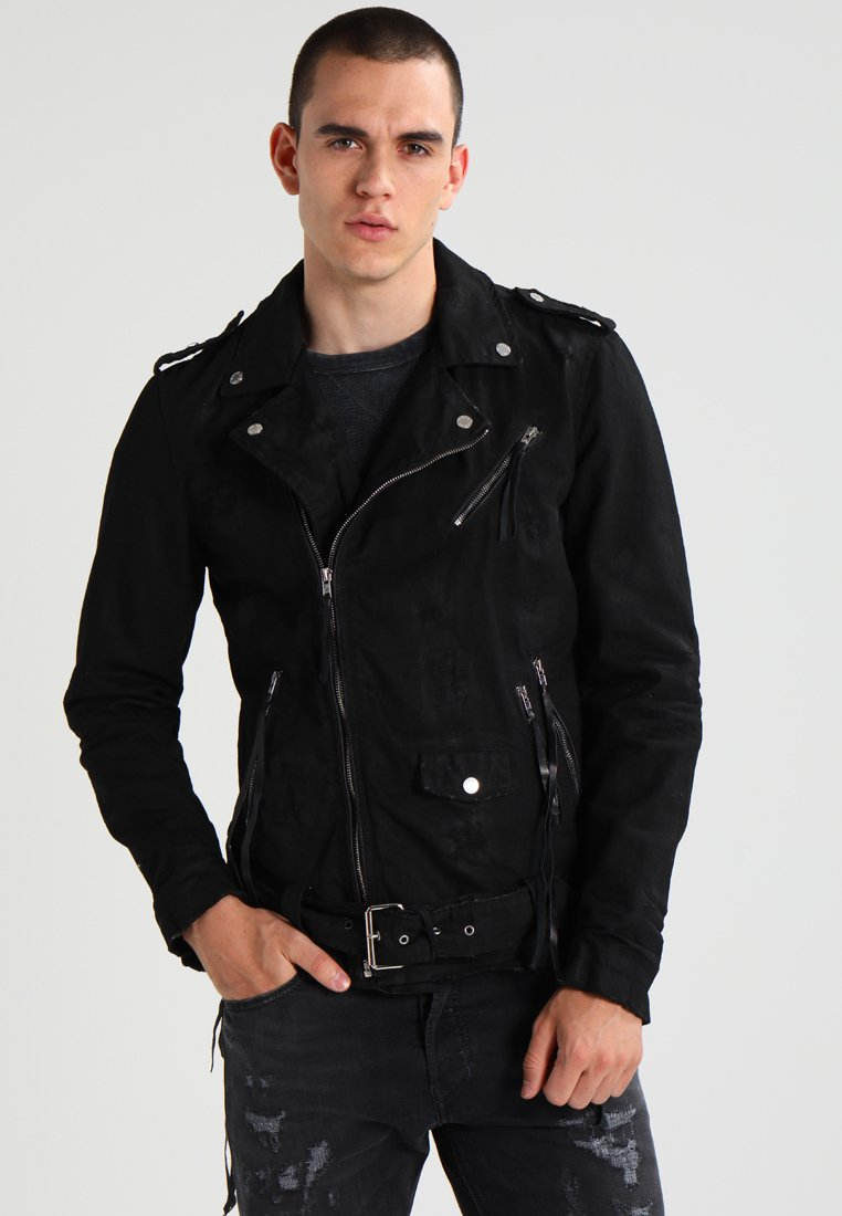 Be Edgy - BECHAIN - Denim jacket - black