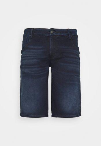 JJIRON JJLONG - Jeansshort - blue denim