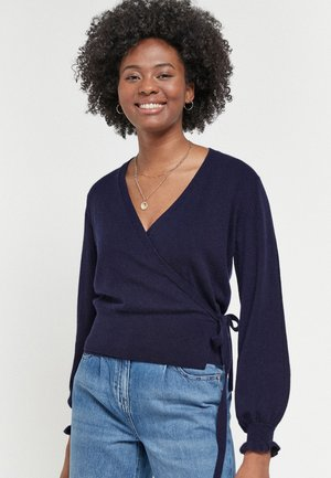 Strikjakke /Cardigans - dark blue