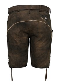 Spieth & Wensky - FC BAYERN FIMO - Leather trousers - braun - 1