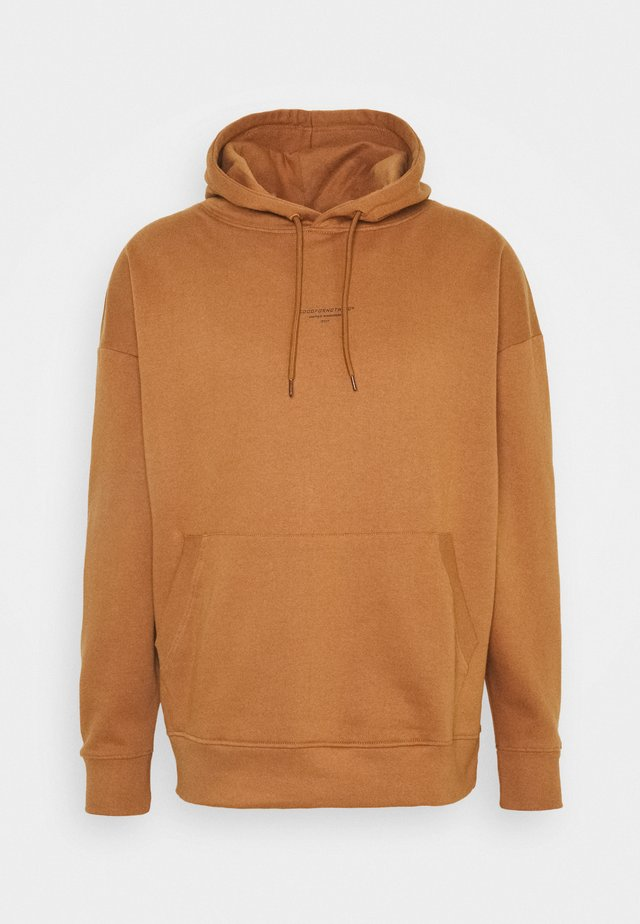 HOODIE UNISEX - Sweat à capuche - brown