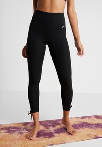 Nike Performance - COLLECTION - Leggings - black/white - 0