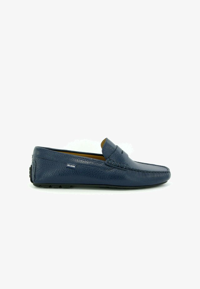 CITY LOAFERS - Mocassins - navy