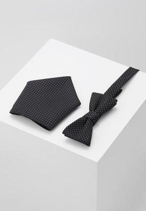 BUSTER SET - Pocket square - black