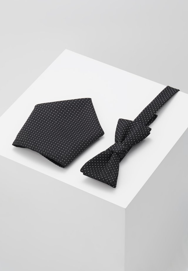 BUSTER SET - Pocket square - black
