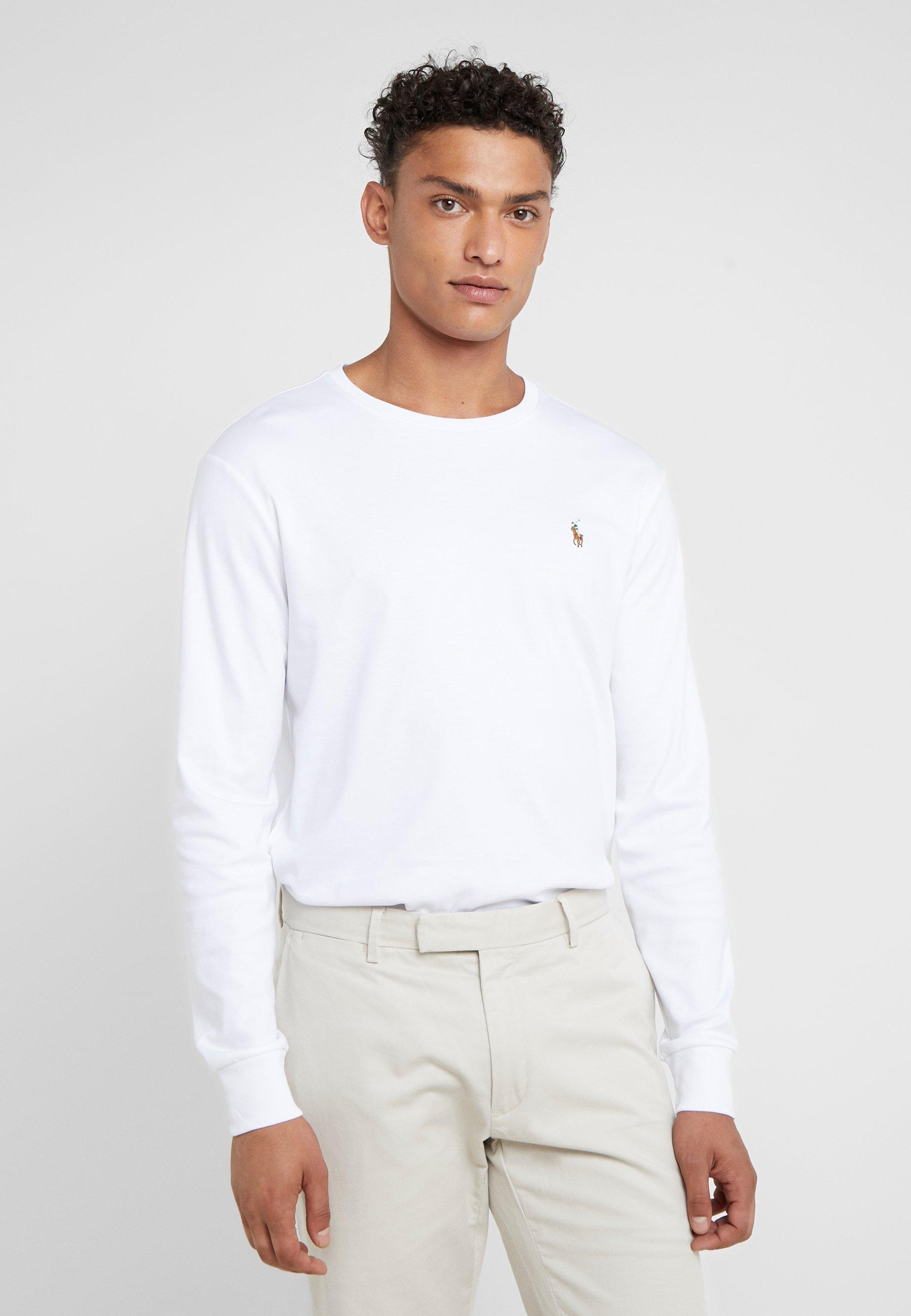 Herrer PIMA - Langærmede T-shirts
