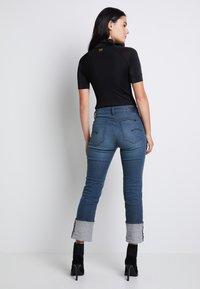 G-Star - MELAM FUNNEL BODY - Print T-shirt - dark black - 3