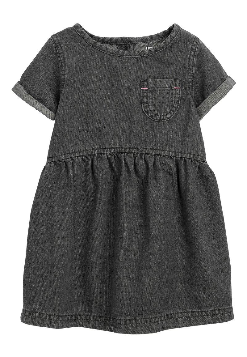 Next - DENIM POCKET DRESS (3MTHS-7YRS) - Sukienka letnia - black