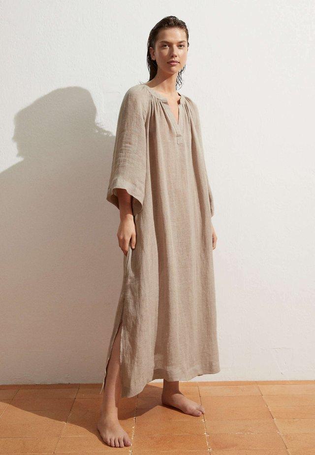 Sukienka letnia - light brown
