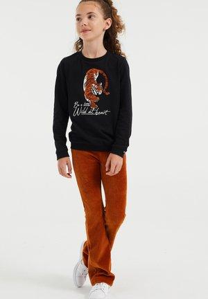 MET EMBROIDERY - Sweater - black
