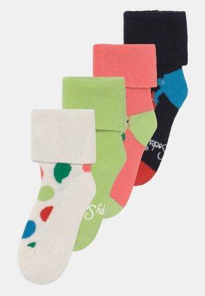 FRUIT MIX & DINOS 4 PACK UNISEX - Sokken - multi-coloured