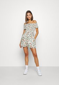 Tommy Jeans - SUMMER PRINTED PLAYSUIT - Jumpsuit - multi-coloured - 1