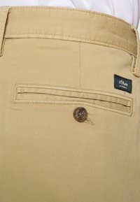 s.Oliver - Trousers - beige - 5
