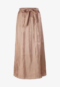 s.Oliver BLACK LABEL - A-line skirt - beige - 5