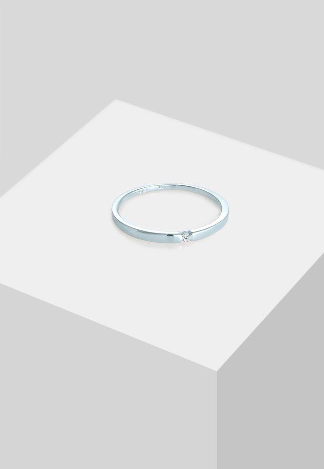 Ring - white-coloured
