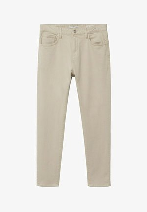 SOFT TOUCH - Jeans Tapered Fit - beige