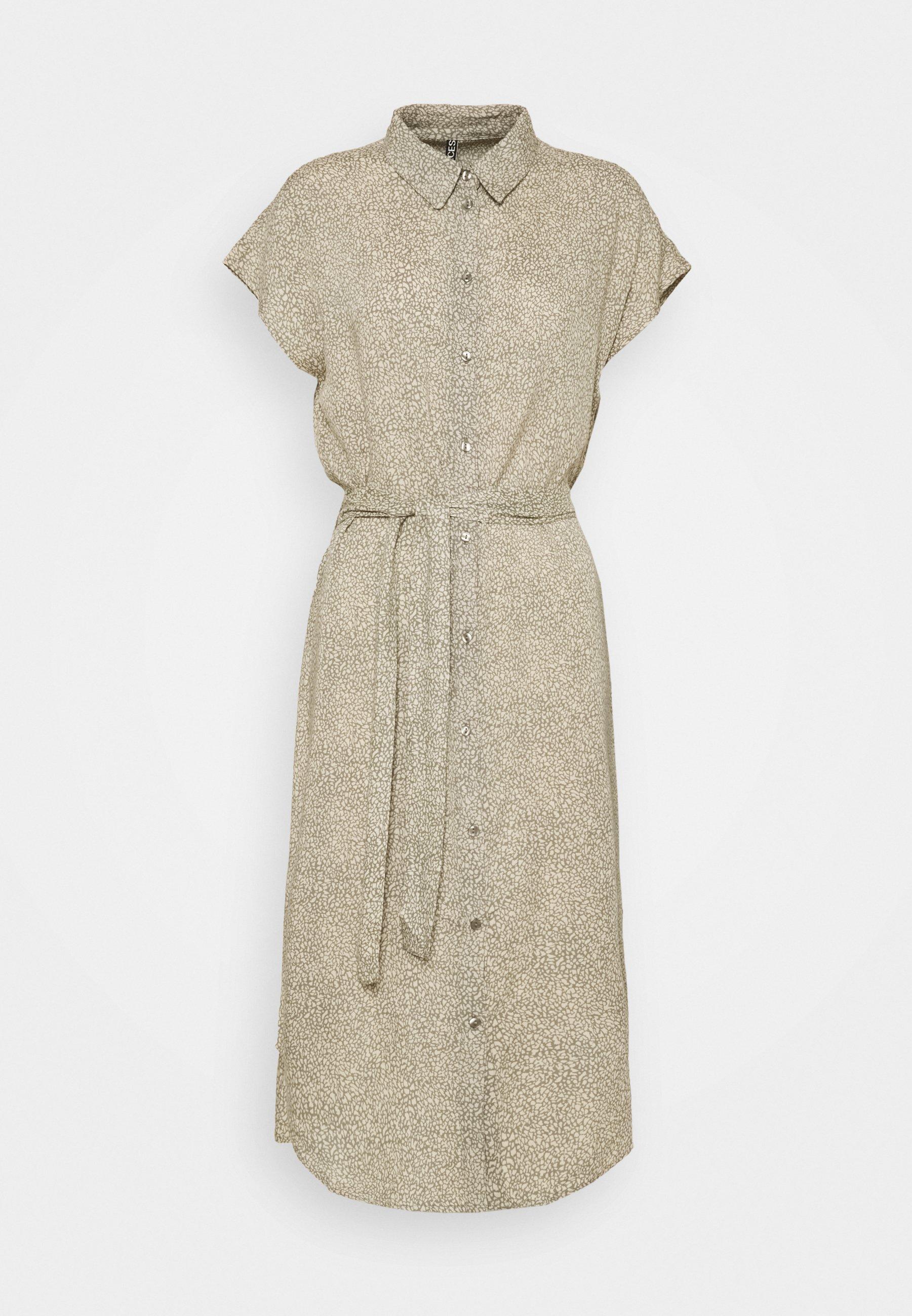 Women PCNYA SHIRT DRESS - Shirt dress